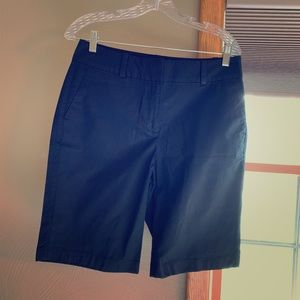 Ann Taylor, black, size 6, Boardwalk shorts